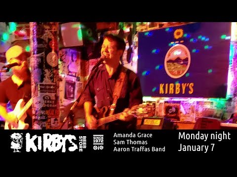 Amanda Grace with Sam Thomas and Aaron Traffas Band at Kirby's Beer Store