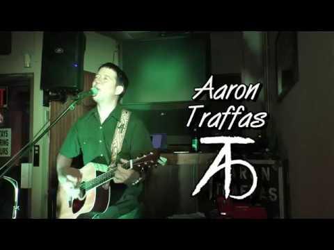 Aaron Traffas live at Dovie's Bar in Kiowa, Kansas, on August 31, 2018