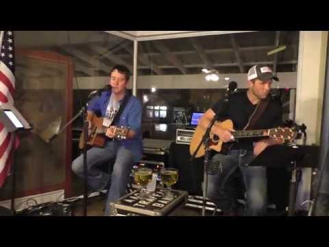 Aaron Traffas and Anthony Farrar at Buster's in Sun City, Kansas