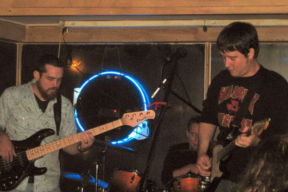 Aaron Traffas Band is Randy Miller, Mason Powell, and Aaron Traffas - live music in Baldwin City, Kansas