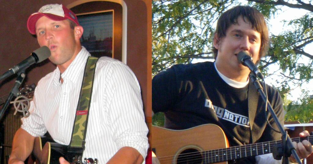 Anthony Farrar and Aaron Traffas