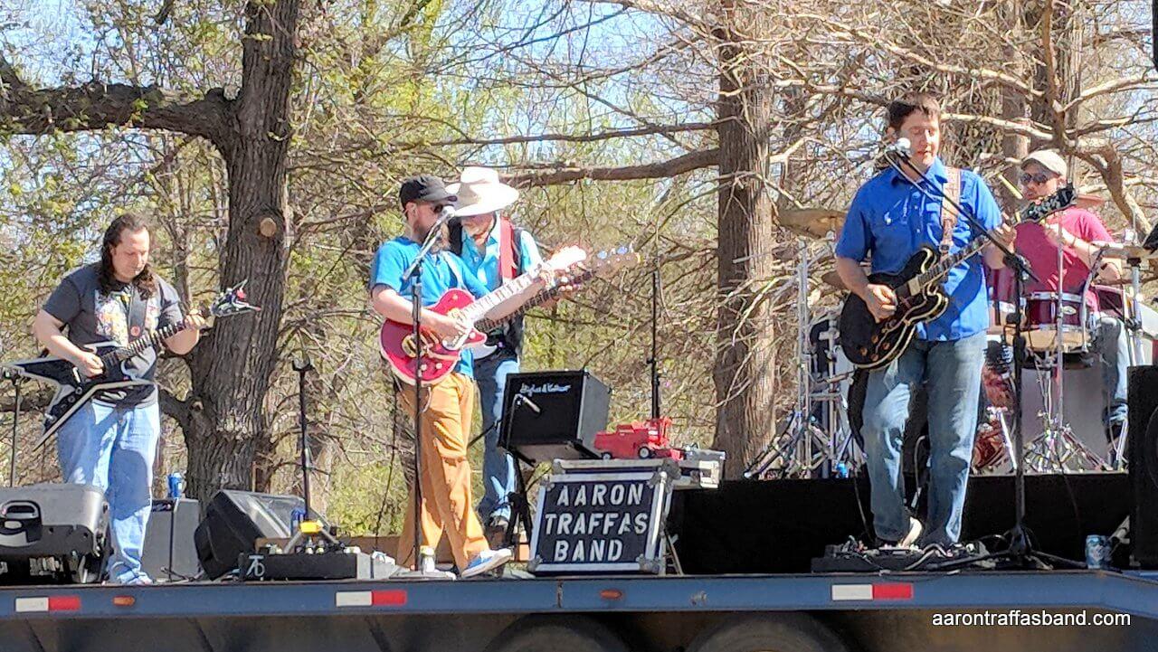 Aaron Traffas Band live music in Pratt Kansas